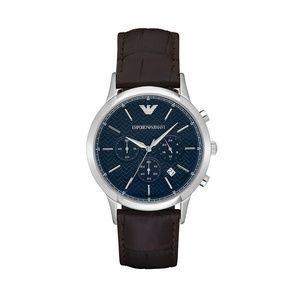 Emporio Armani Brown Quartz Analog Watch